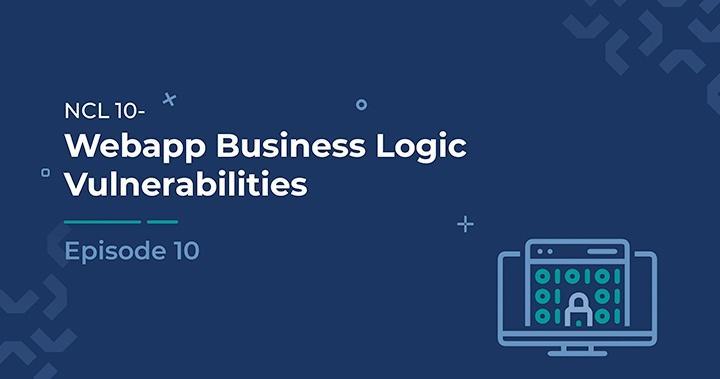 WebApp Business Logic Vulnerabilities